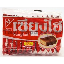 Shanghi Chocolate Cream wafer 15x6g