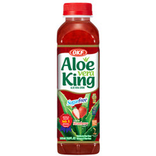 OKF Aloe Vera King Drink Strawberry 500ml
