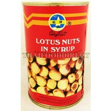 Sailing Boat Lotus Nuts in Syrup 480g