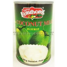 Lamthong Young Coconut Meat in Syrup 425g