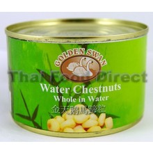 Golden Swan Water Chestnuts Whole in Water 227g