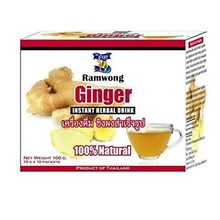 ramwong Ginger Instant Herbal Drink 100g