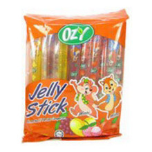 Ozy Brand Fruit Jelly Sticks - 8 x 300g