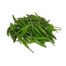 Fresh Import Large Green Chilli 100g