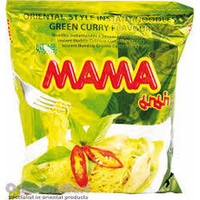 Mama Instant Noodles - Green Curry - 1x 55g
