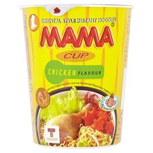 Mama Instant Noodles - Chicken Flavour (Cup) - 1 x 70g