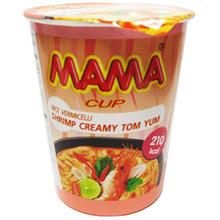 Mama Instant Noodles - Shrimp Creamy Tom Yum (cup) - 70g