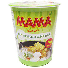 Mama Instant Rice Vermicelli - Clear Soup (Cup) - 1 x 50g