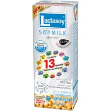 Lactasoy Soy Milk - Black Sesame 250ml