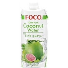 FOCO Coconut Water With Pink Guava 500ml