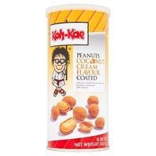 Koh Kae Coconut Cream Flavoured Peanuts 265g