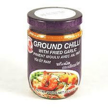 Cock Brand Ground Chilli with Fried Garlic 227g