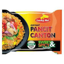 Lucky Me Instant Pancit Canton - Sweet & Spicy 60g
