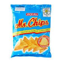 Jack & Jill Mr Chips Nacho Cheese Flavoured Corn Chips 100g