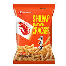 Nong Shim Shrimp Flavoured Crackers 75g