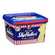 M.Y San Skyflakes Biscuits (Plastic Pail) 850g