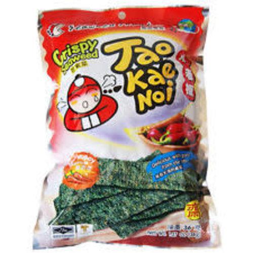 Tao Kae Noi Crispy Seaweed - Hot & Spicy 32g