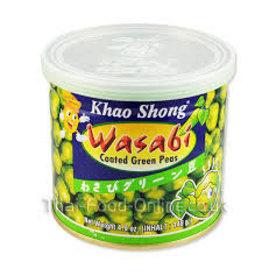 Khao Shong Nuts Wasabi Coated Green Peas 140g