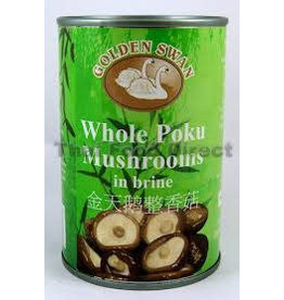 Golden Swan Whole Poku Mushrooms 156g