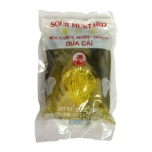 Cock Brand Pickled Chinese Mustard (sour) 300g