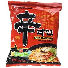 Nong Shim Noodle Soup - Gourmet Spicy 120g