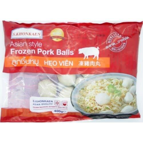 S Khonkaen Pork Balls 400g