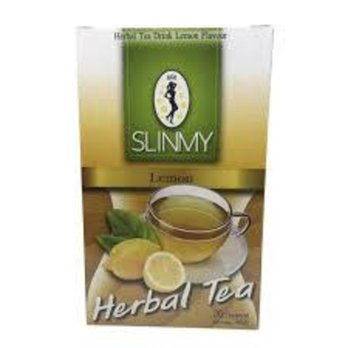 Slinmy Herbal Teabags - Lemon 40g