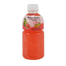 Mogu Mogu Pink Guava Flavoured Drink 320ml