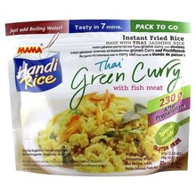 Mama Handi Rice – Green Curry With Fish Meat - 1 x 80g