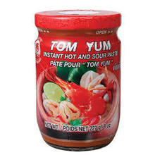 Cock Brand Tom Yum Hot & Sour paste  227g