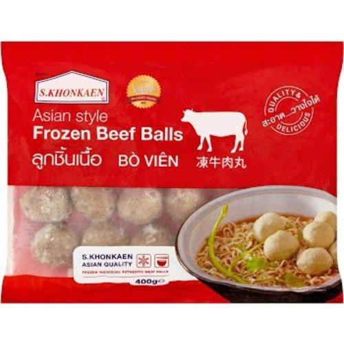 S Khonkaen Beef Meat Ball 400g