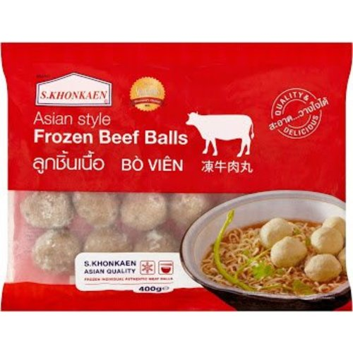 S Khonkaen Beef MeatBalls 400g