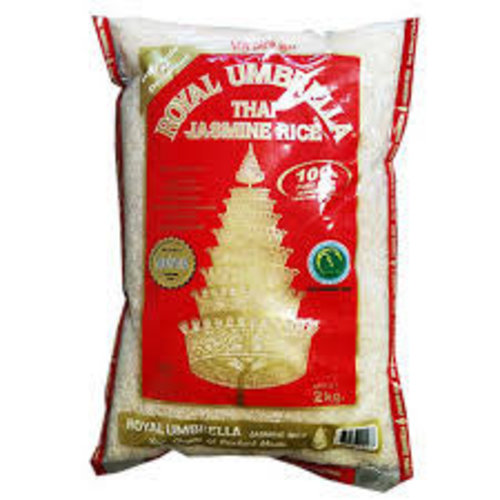 Royal Umbrella Thai Mali Jasmine Rice 2kg