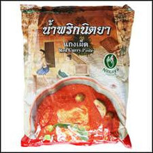 Nittaya Red Curry Paste 1000g