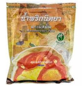 Nittaya Massaman Curry Paste 1000g