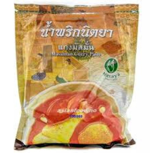Nittaya Massaman Curry Paste 1kg