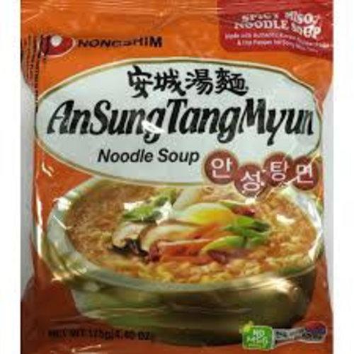 Nongshim Noodle Soup - AnSungTangMyun  125g