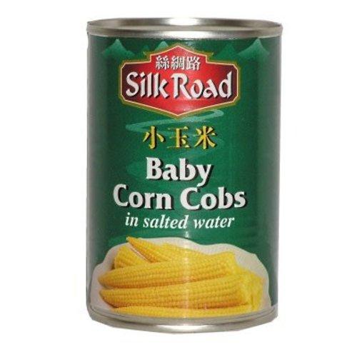 Silk Road Baby Corn Cobs 425g