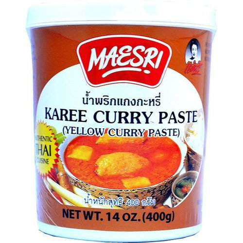 Maesri Yellow Curry Paste 400g