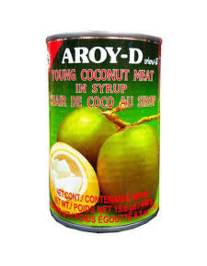 Aroy D Young Coconut Meat in Syrup 425g