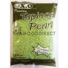 Pandan Tapioca Pearl (small) 500g