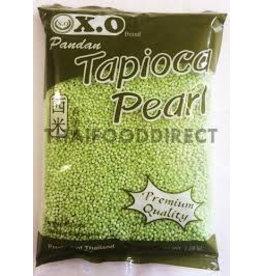 X.O Pandan Tapioca Pearl 500g