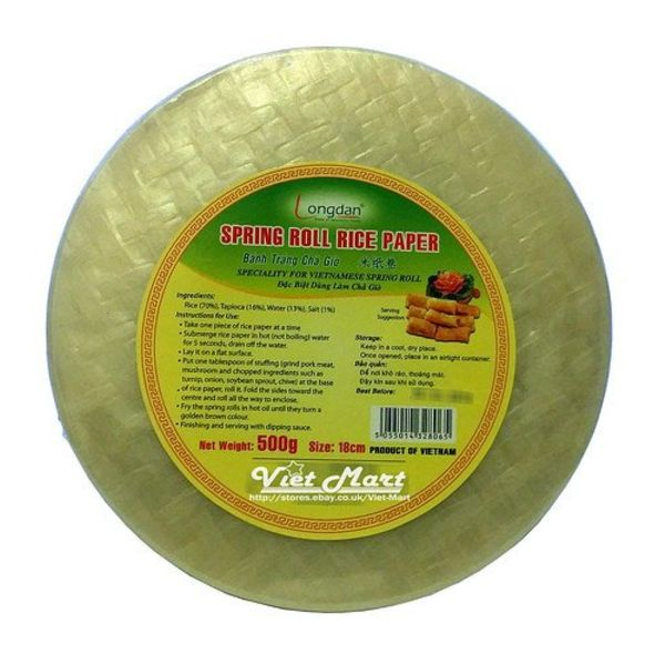 Longdan Rice Paper 28cm - 500g