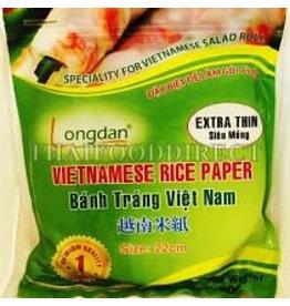 Longdan Vietnamese Rice Paper 22cm 250g