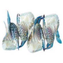 Kimsom Half Cut Blue Swimming Crab U/10 1 kg