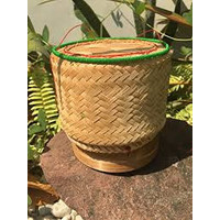 """Bamboo Basket for Sticky Rice 6"""""""