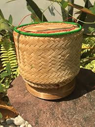 Bamboo Basket for Sticky Rice 5""