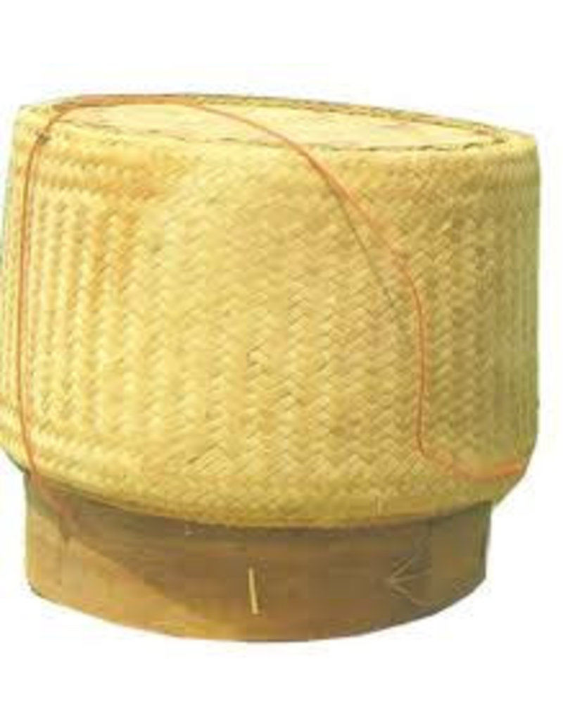 Bamboo Basket For Sticky Rice 6.5""