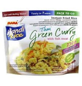 Mama Instant Fried Rice -  Green Curry With Fish Meat 80g