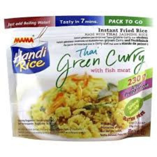 Mama Fried Rice -  Green Curry With Fish Meat 80g